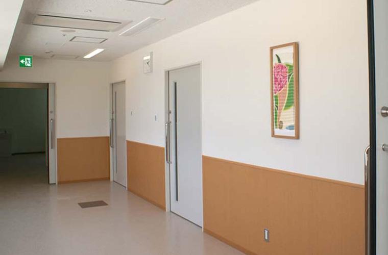 金沢医科大学氷見市民病院(富山)/廊下