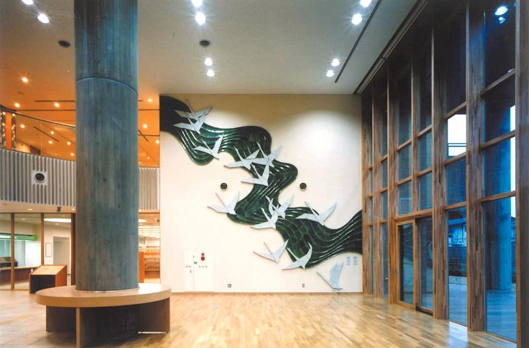 伊丹市北部拠点施設きららホール(兵庫)/<br>エントランスホール