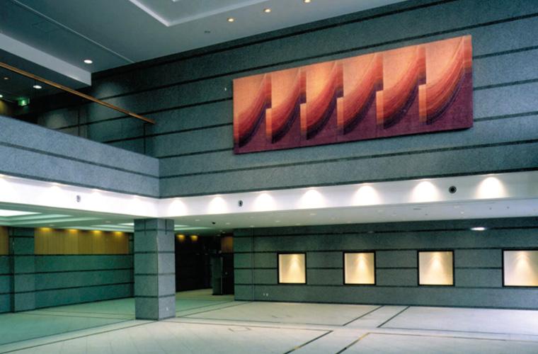 大田区池上会館(東京)/エントランスホール