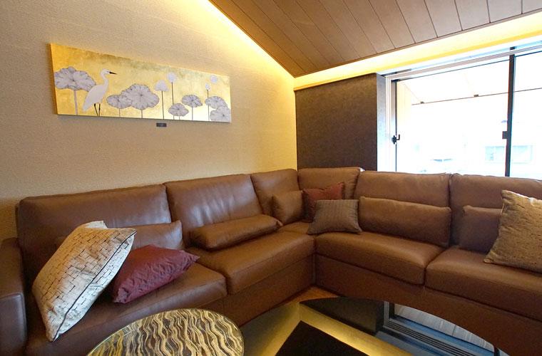 トラスコ京都神楽岡蓮月荘(京都)/宿泊室・リビング