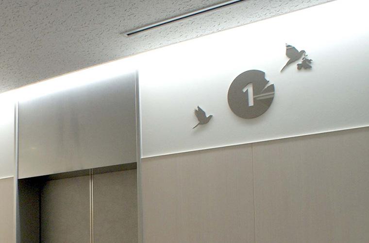 愛知医科大病院(愛知)/エレベーターホールほか